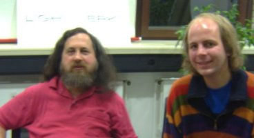 Richard Stallman and me