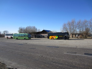 Bus and Restaurant