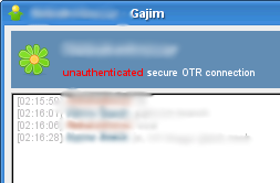 gajim with otr