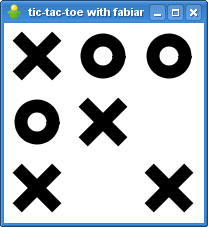 Tic Tac Toe in gajim