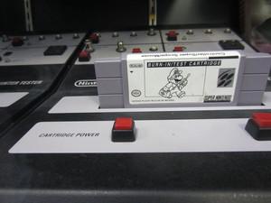 Nintendo test cardrige