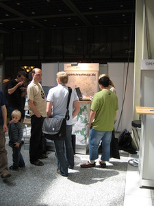 OSM booth at openexpo