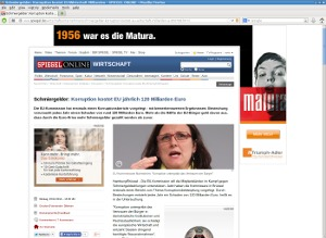 Spiegel Online Flash Banner