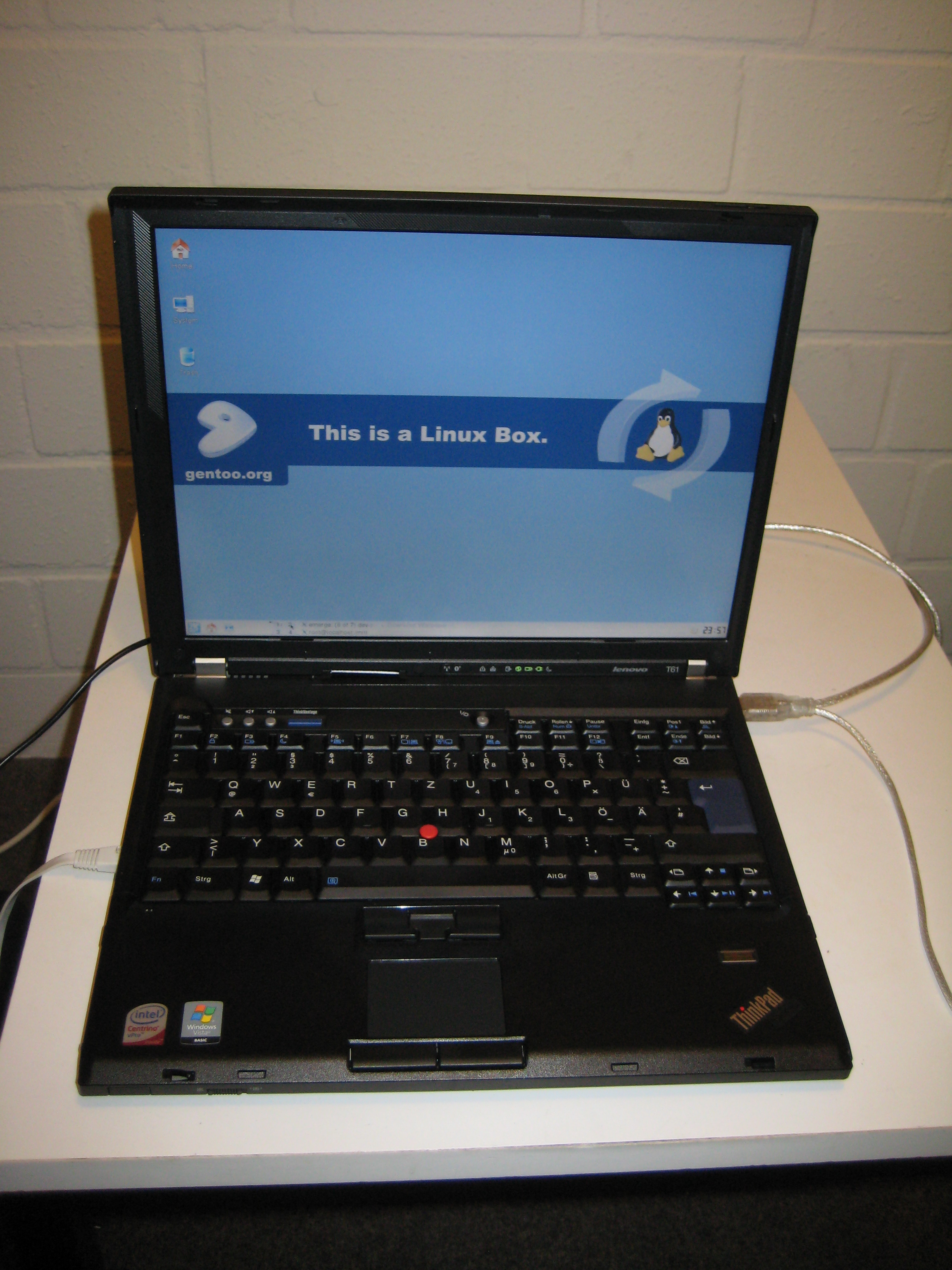 New T61 Laptop (8895WFJ) - Hanno's blog