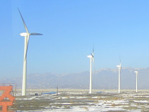Wind energy in Xinjiang