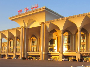 Train station in Yining